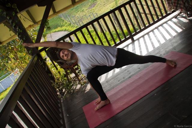 Otra asana de yoga