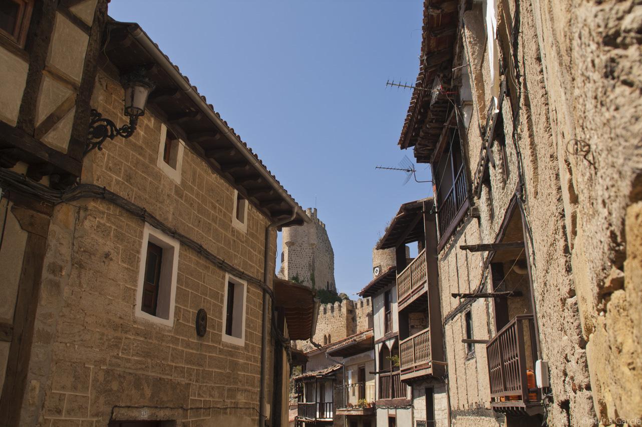 Detalle de las casas
