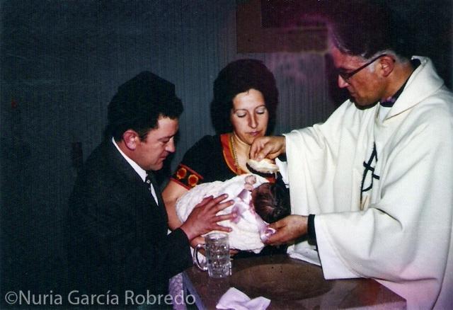 Mi bautizo. Hace ya tantos años....
