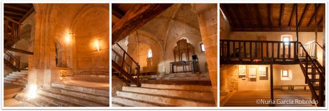Parte interior de la ermita