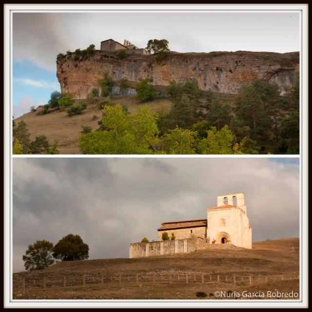 La Peña vista desde otro ángulo y la ermita