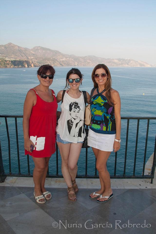 Rosa, Nurilove e Isabel