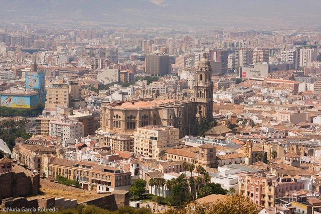 Vistas de la Catedral de Málaga