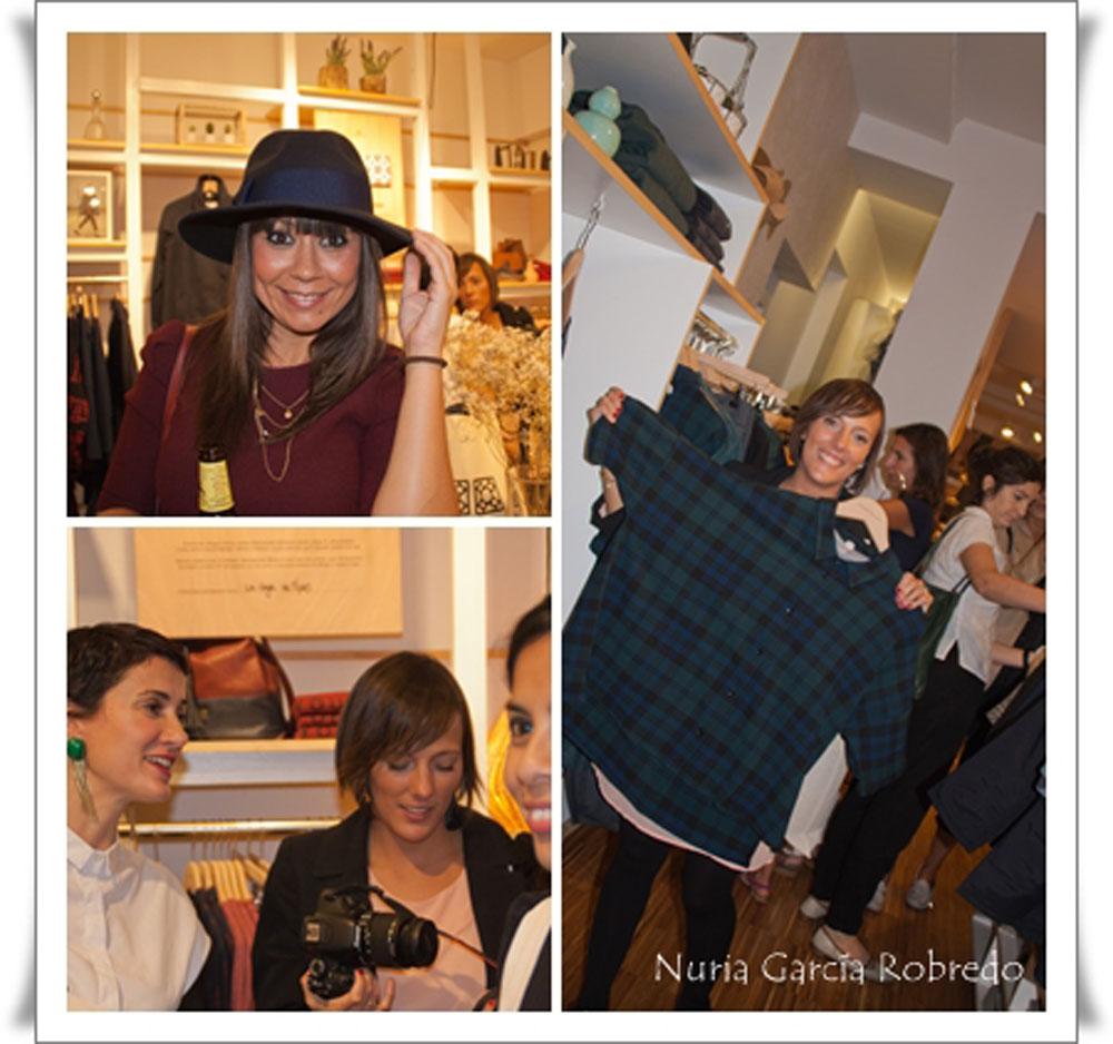 Arriba Eli (La huella de mis tacones). Abajo Nora (Back to trendy), Iratxe (Bilbaopasarela) y en la esquinita Ana (Ana living fashion)