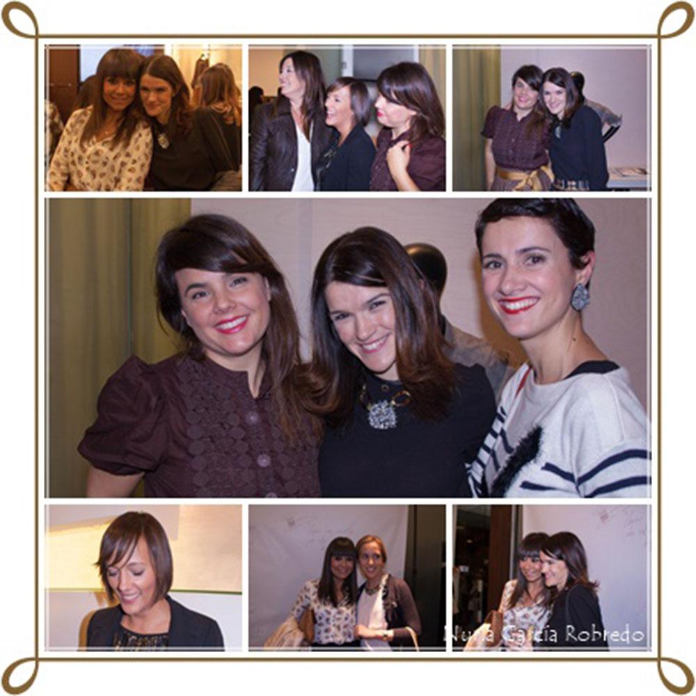 Todas mezcladas estamos: Nurilove, Eli (la huella de mis tacones), Irantzu (Cuenta Hasta Diez), Iratxe (Bilbao Pasarela), Vanessa (I love Melita), Nora (Back to trendy), Amaia (Fashion & Traveling)