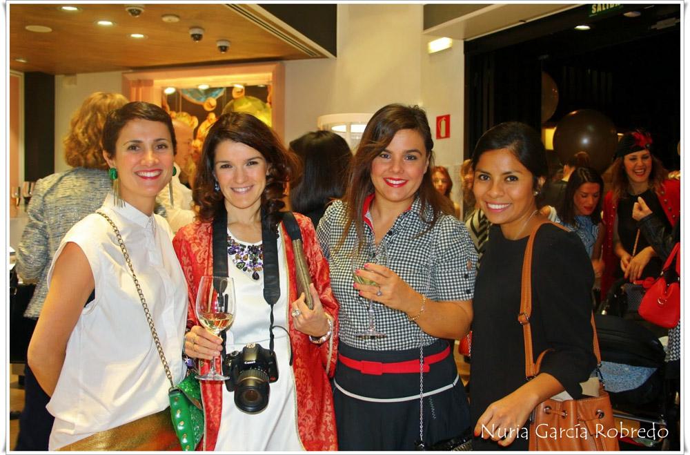 De izquierda a derecha Nora (Back to trendy), Nurilove, Vanessa (I love Melita) y Ana (Ana living fashion)