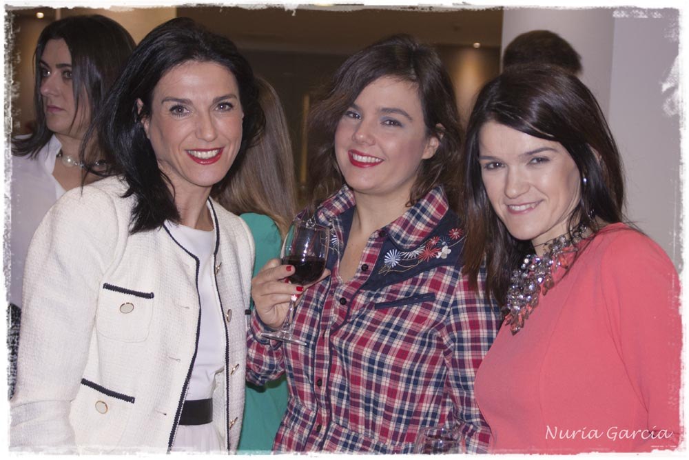 Irantzu (Libellule Showroom), Vanessa (I Love Melita) y Nurilove