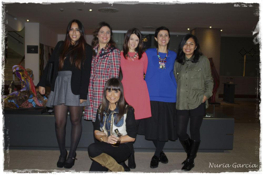 Fiorella (Un rincón para mis botas), Vanessa (I love Melita), Nurilove, Nora (Back to trendy), Ana (Ana living fashion) y Eli (La huella de mis tacones)