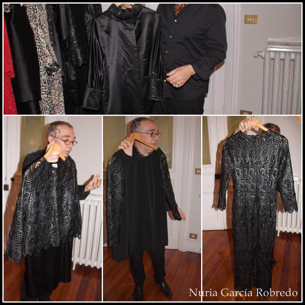 Diversas prendas en color negro