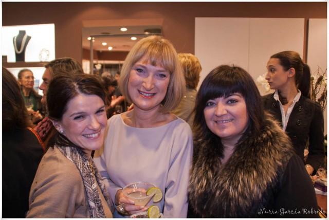 Nurilove, Arantza (Blogmaspersonal) y Pi C. Mena