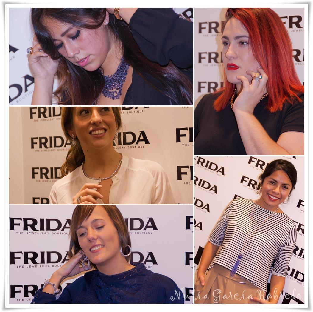 Fiorella (Un rincón para mis botas), Amaia (Fashion Traveling), Iratxe (Bilbao Pasarela), Ana (The Duchess) y Ana (Ana Living Fashion)