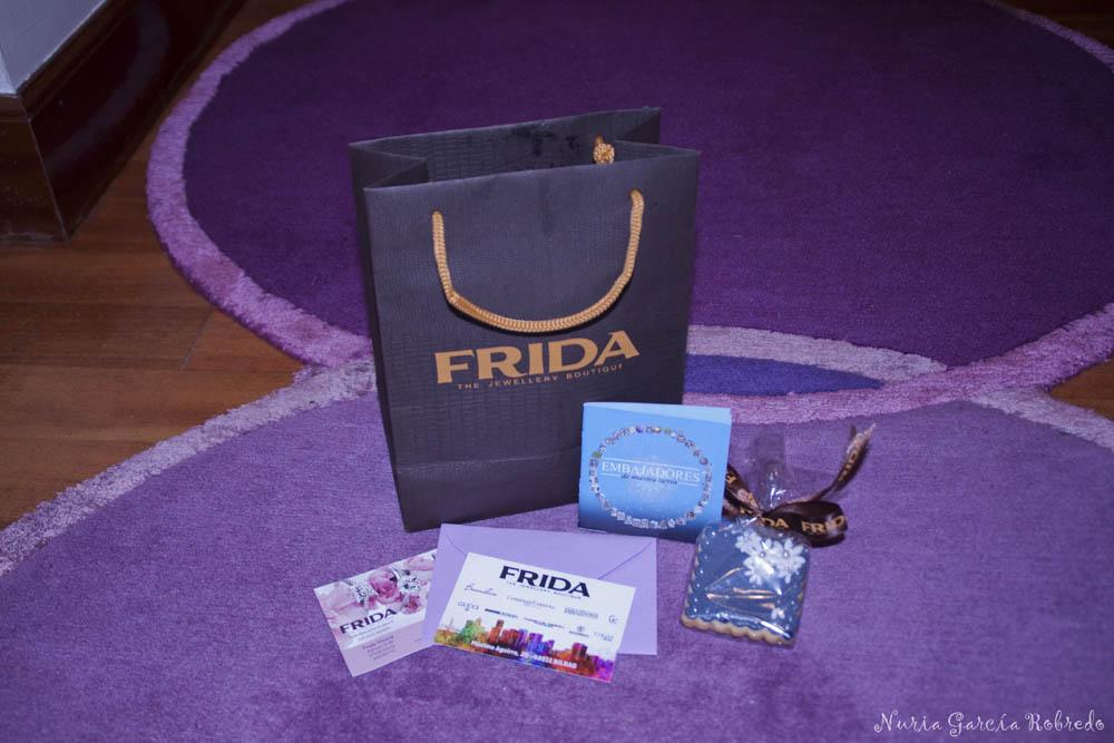 Detalle de FRIDA con sus invitados