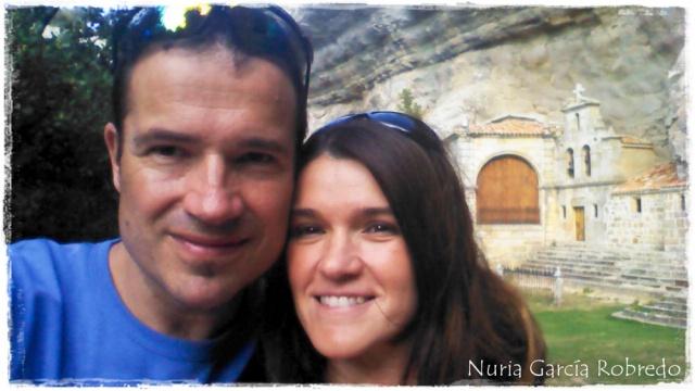 Andrés y yo en Ojoguareña