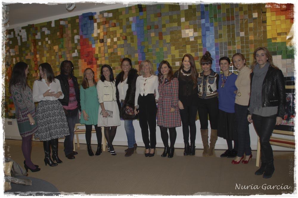 Colaboradores y participantes del Pop Up Store