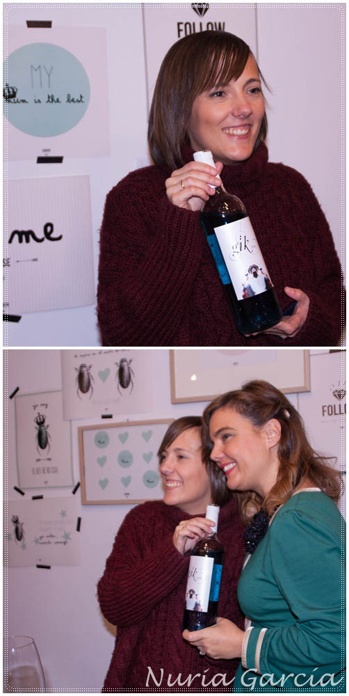 Iratxe (Bilbao Pasarela) y Vanessa (I love Melita)