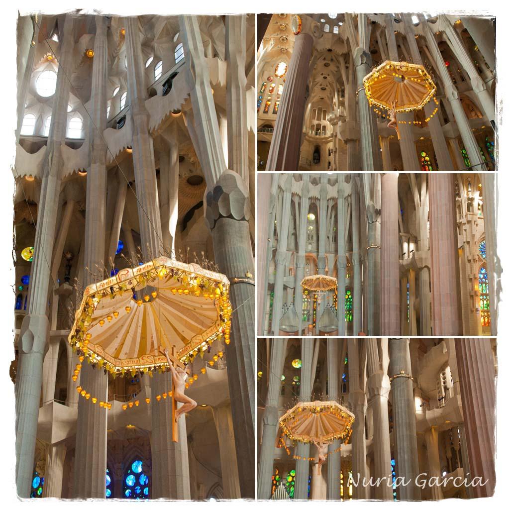 Parte central y altar