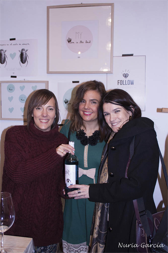 Con Iratxe (Bilbao Pasarela) y Vanessa (I love Melita)