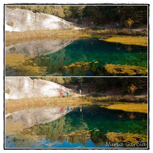 La Fuentona, aguas cristalinas