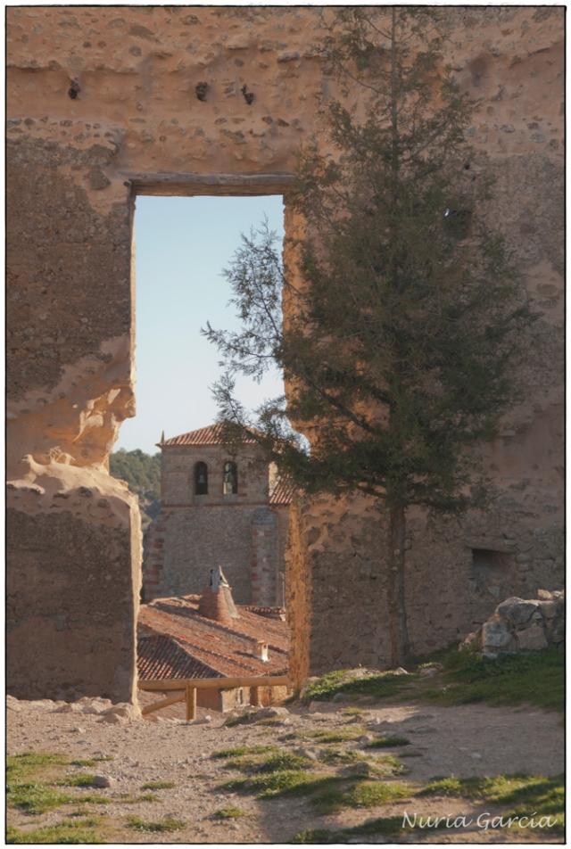 Vistas del pueblo desde el castillo