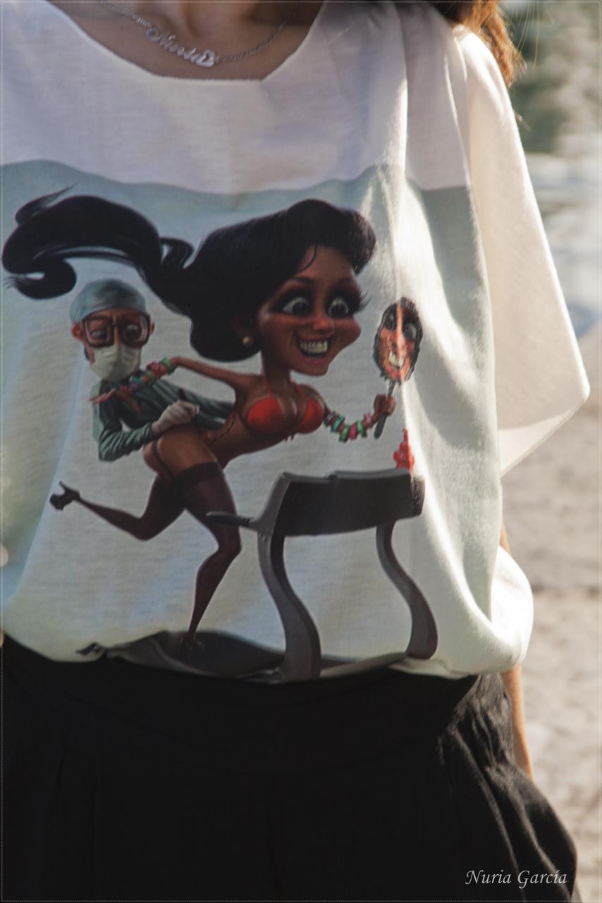 Detalle de la camiseta