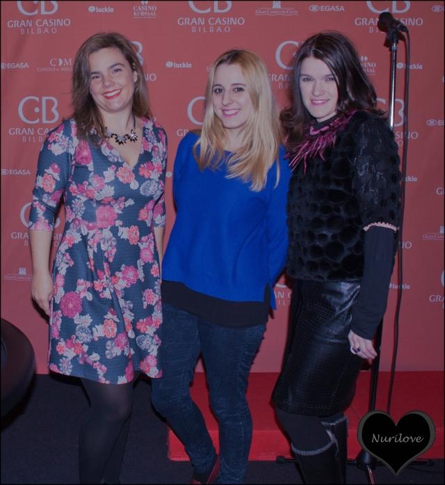Vanessa (I love Melita), Goizane (Me myself my wardrobe) y Nurilove