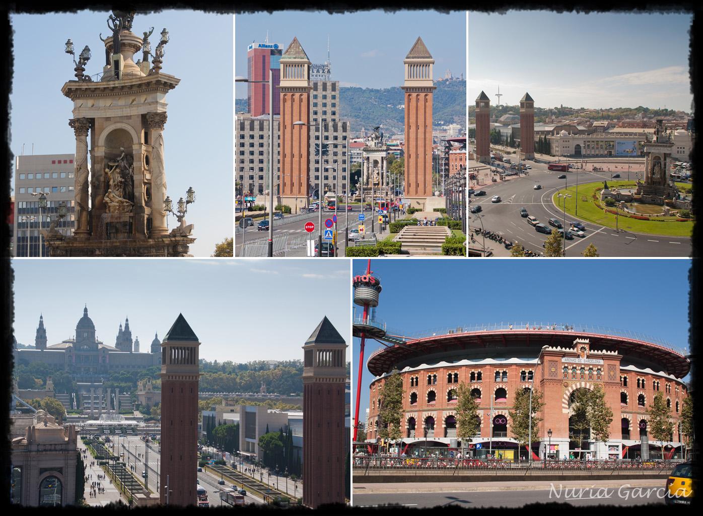 Plaza de España con el Centro Comercial Arenas