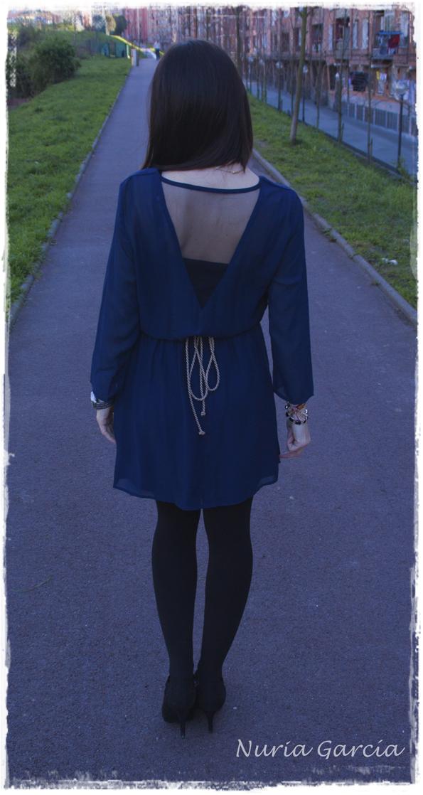 Espalda del vestido