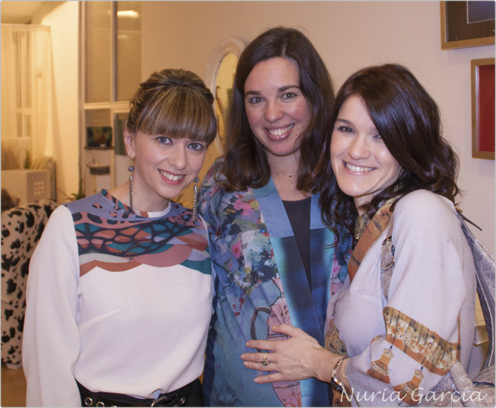 Patricia, Itxaso y Nuria