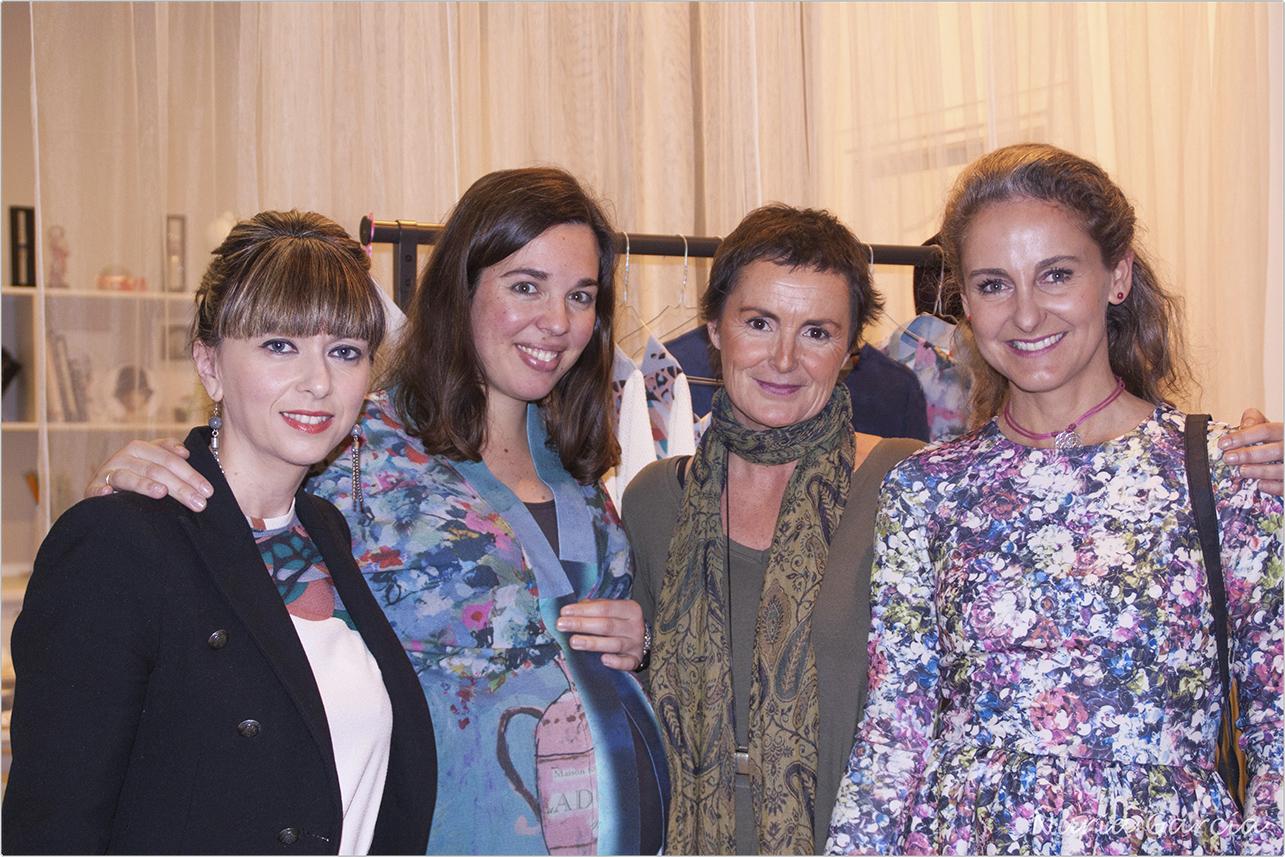 Patricia, Itxaso, María y Carla