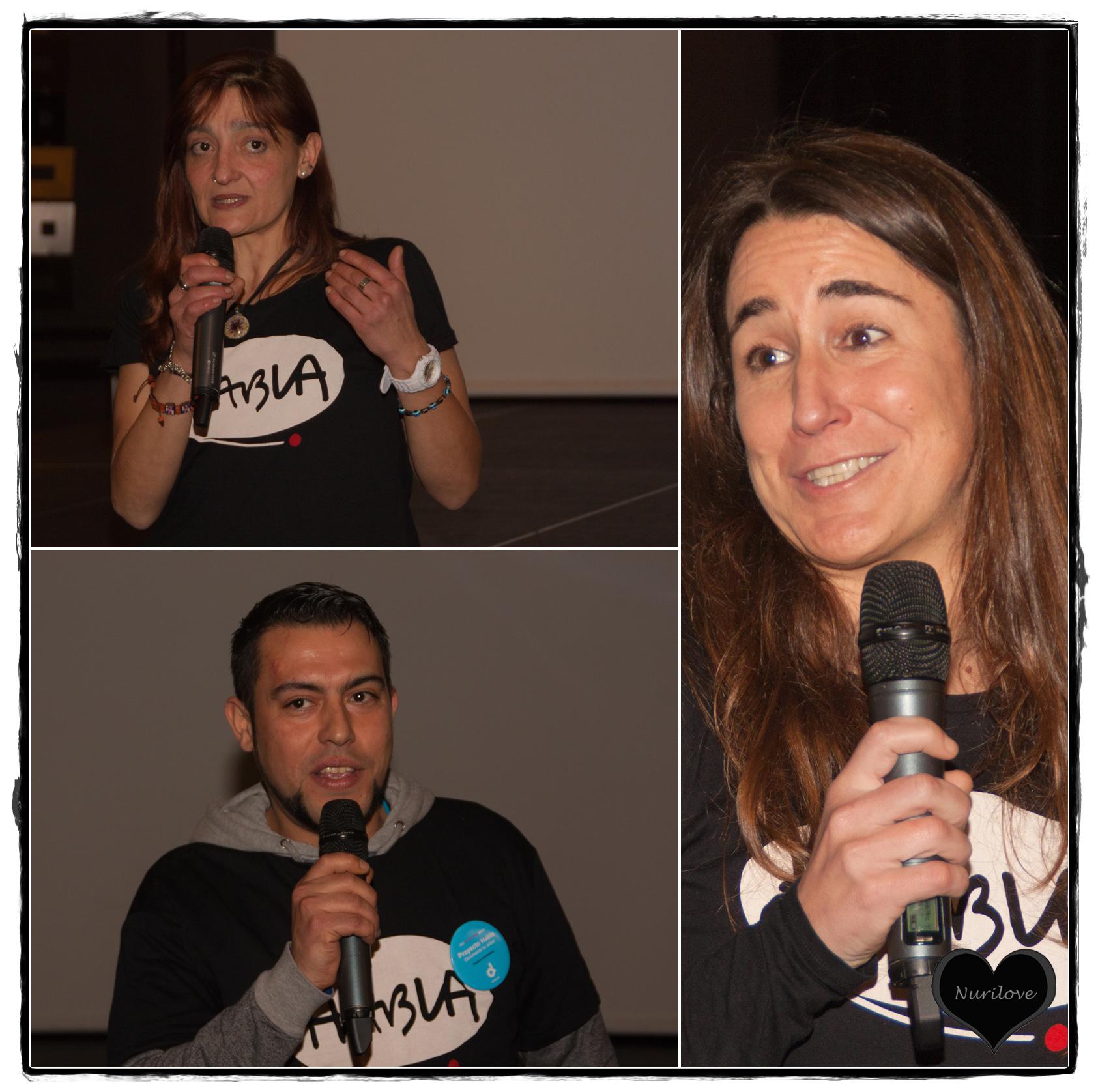 Reporteros del proyecto y Nagore Esquisabel