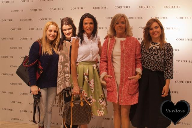 Photocall: Gozane (Me myself my wardrobe), Nurilove, Irantzu (Libe Llule), Leonor (Con buena facha) y Vanessa (I love Melita)