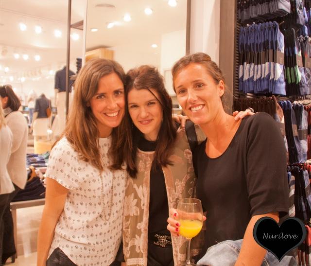 Elena Rodrigo, Nurilove y Carla Zubiaga