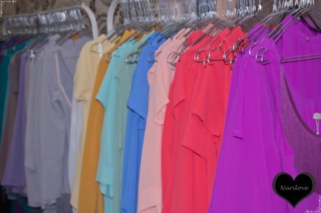 Blusas de todos los colores