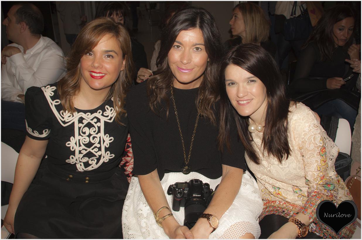 Con Vanessa (I love Melita) y Silvia (Sylvia's closet by Silvia)
