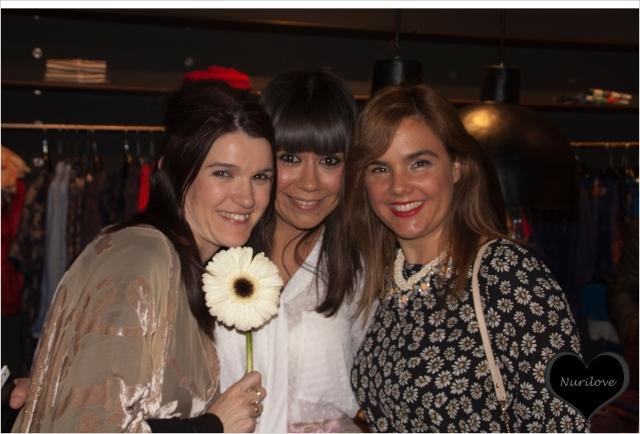Nurilove, Eli (La huella de mis tacones) y Vanessa (I love Melita)