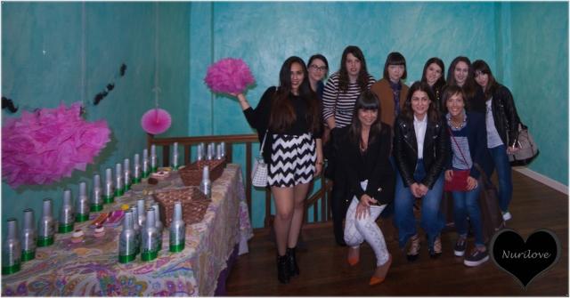 Grupo de bloggers que acudimos al evento