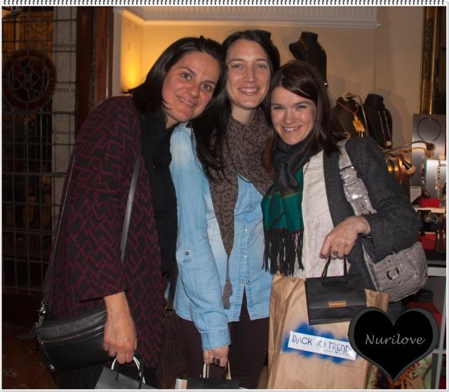 Esther, Marta y yo