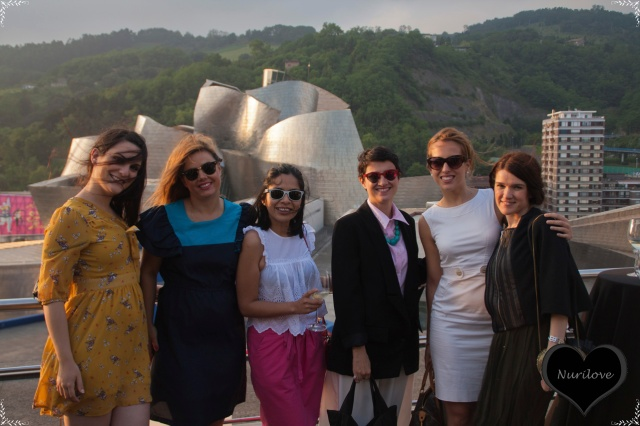 Vanesa (I love Melita) y su prima, Ana (Ana living fasion), Nora (Back to trendy), Amaia (Fasion and Traveling) y Nurilove