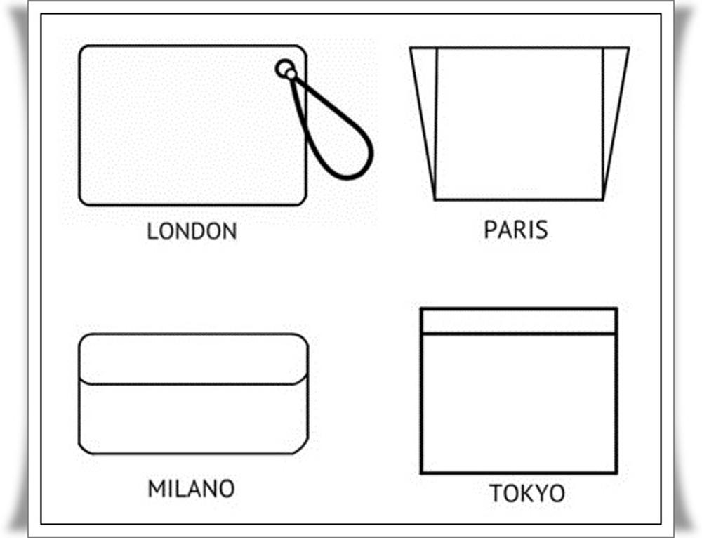 1 Modelos de bolso