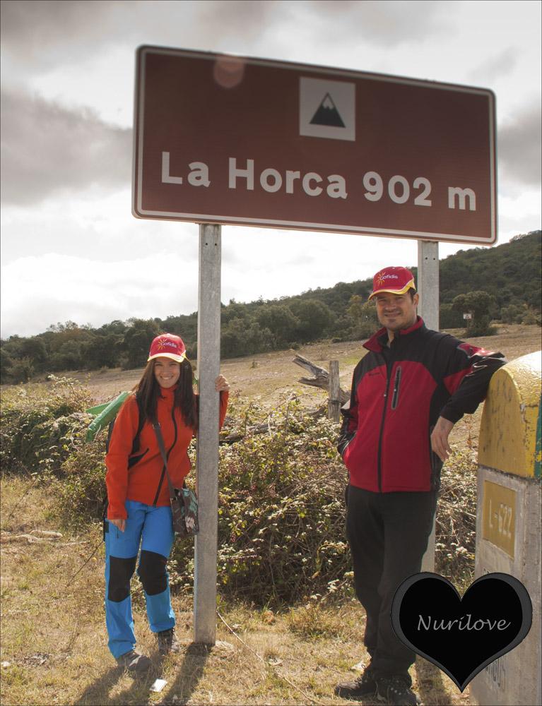 Alto de la Horca: Muga entre Alava y Burgos