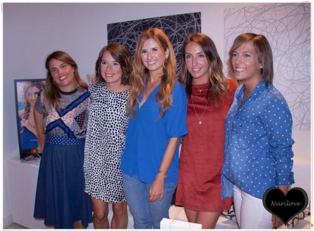 Vanessa (I love Melita), Eunate, Rebeca, Leire e Iratxe (Bilbao Pasarela)