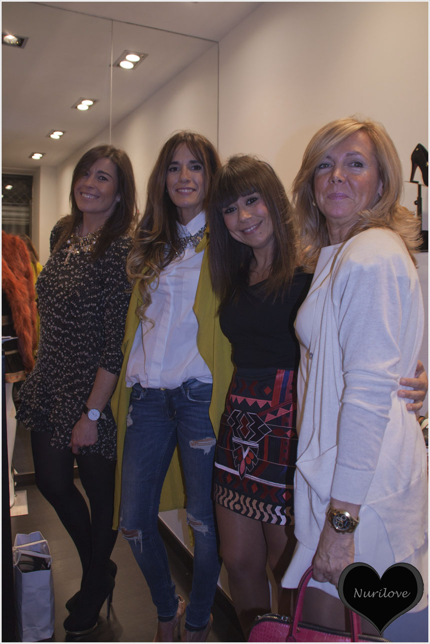 Sylvia, Edurne, Eli y Leonor