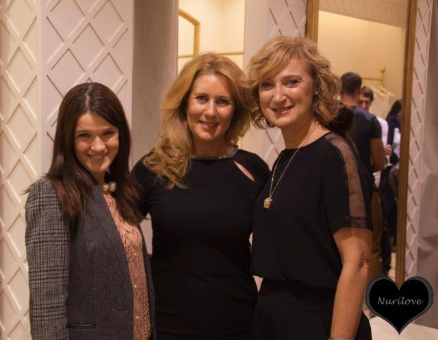 Nurilove, Gemma Agirrezabala (Pronovias) y Arantza (Blog mas personal)