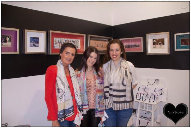 María, Nurilove e Itxaso