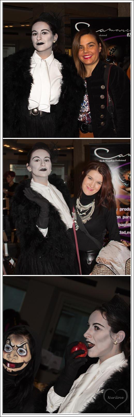 Tamara (película en blanco y negro) con Vanessa y conmigo