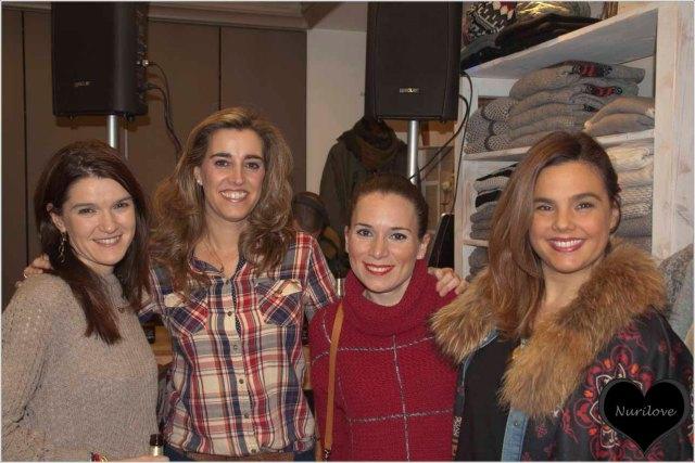 Eunate, Vanessa y yo con Susana