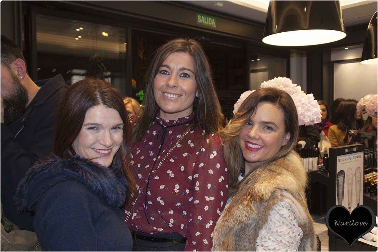Nuria, Sylvia y Vanessa