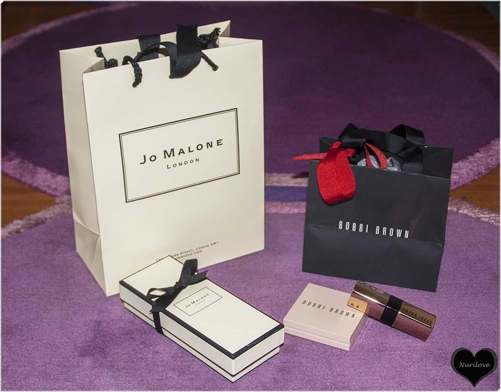 Detalles de Jo Malone y Bobbi Brown