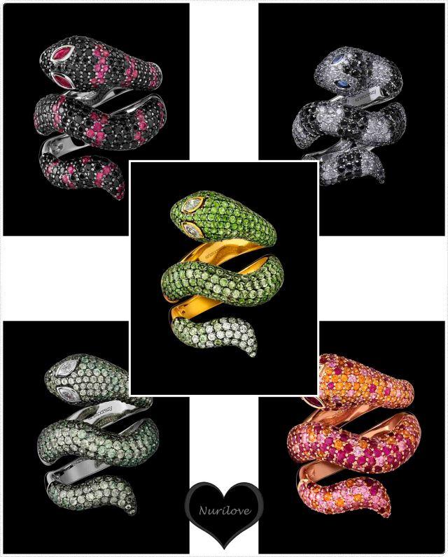 Los cinco diseños