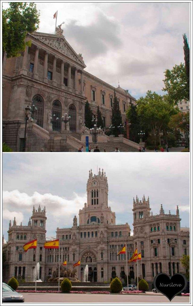 Biblioteca Nacional y Edificio de Correos